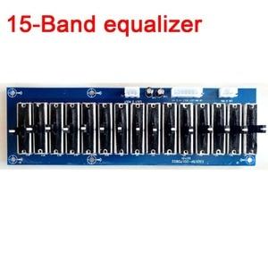 Image 2 - Dykb Stage Stereo Eq Equalizer Board 5/6/10/ 15 Band 2.0 Kanaals Voorversterker Tone Verstelbare Voorversterker voorpaneel Voor Versterker