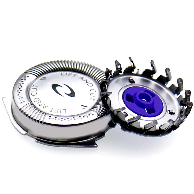 3 adet tıraş makinesi tıraş bıçağı kafaları değiştirme Philips HQ8 HQ6075 HQ7120 PT735 PT860 PT880 PT870 AT890 8895XL 8894XL 8892XL