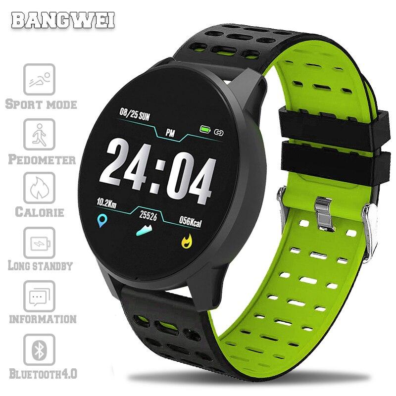 LIGE 2019 nouveau bracelet intelligent pression artérielle fréquence cardiaque Sport Mode montre intelligente hommes femmes Fitness tracker montre étanche horloge