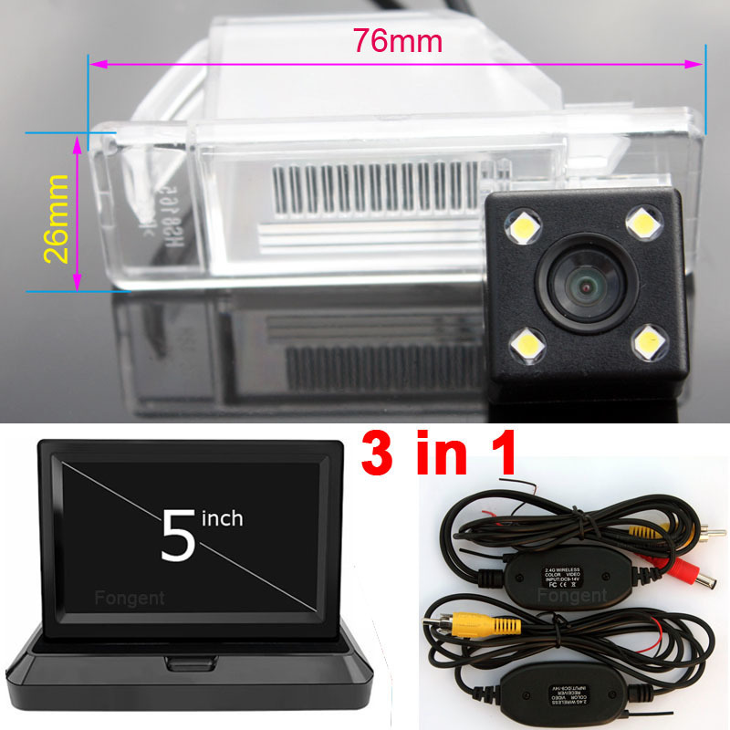 For Nissan X Trail X-Trail Qashqai Juke Sunny Versa NV200 March Car CCD LED Backup Reverse Rear View Camera Car Parking Monitor