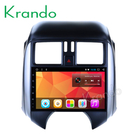 Krando Android 8.1 10.1 IPS Touch screen car Multmedia player for NISSAN SUNNY 2011 2013 audio player gps navigation wifi