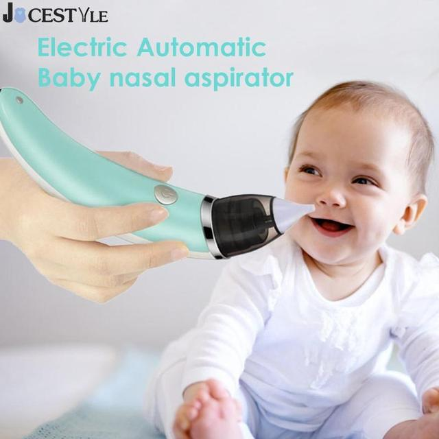 Baby Nasal Aspirator Electric Hygienic Nose Cleaner Safe Oral Snot