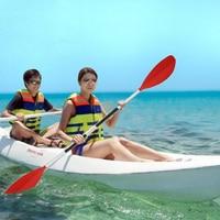 Detachable Asymmetrical Aluminum Kayak Paddle Float Afloat Oar Red Quality River Rafting Inflatable Kayak Canoe Boat Paddle 62cm