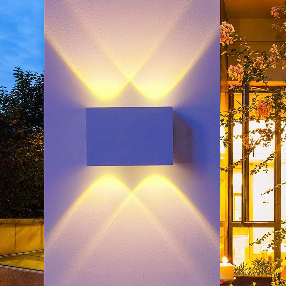 Lights & Lighting Led Lamps Constructive Outdoor Waterproof Wall Light Ip65 4w Led Aluminum Wall Sconce Surface Mounted Ac100-265v Modern Decoration Indoor Lighting Lamp To Suit The PeopleS Convenience
