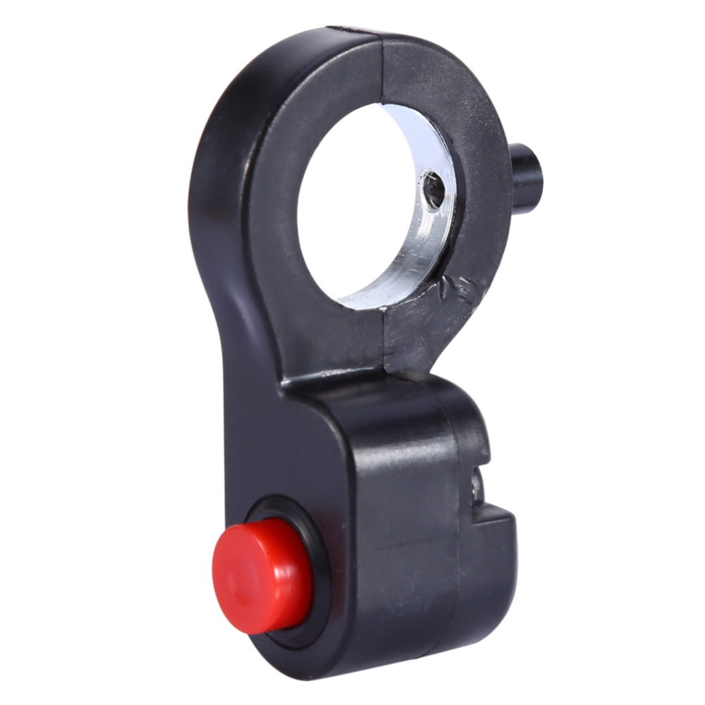7//8 pulgadas 22 mm Interruptor de parada de motocicleta universal Bot/ón de bocina Interruptor de bocina de manillar para motocicleta Bicicleta ATV Dirt Bike