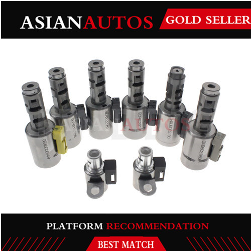 8pce 09G TF60SN/TF61SN auto transmission solenoid fit for VW AUDI