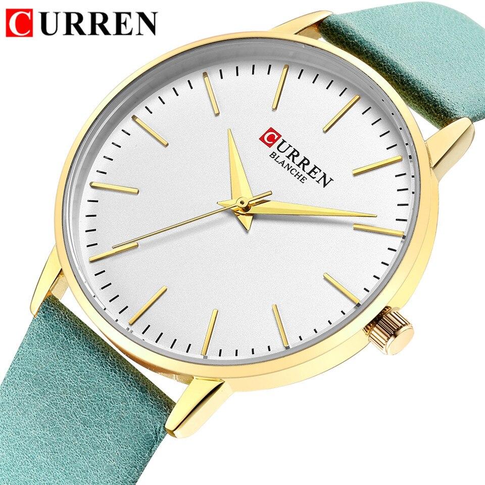 CURREN Women Watches Luxury Fashion Casual Women's Quartz Watch Ladies Wrist Watches Female Hour Bayan Kol Saati Dropshipping