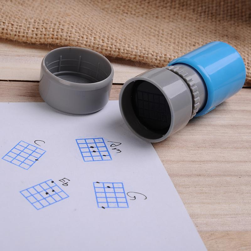 1 Pcs Ukulele Guitar Chord Seal Stamp Classic Chords Print Signet Guitar Accessories(China)
