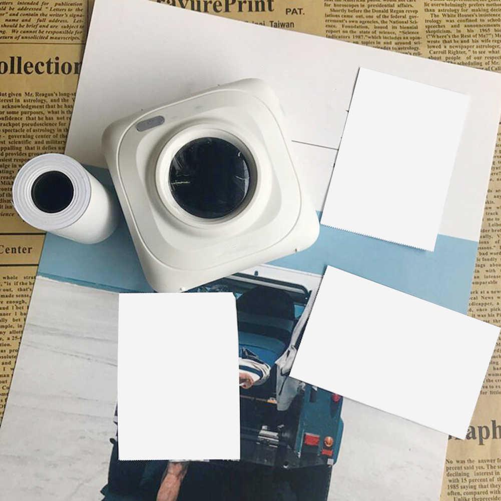 57X30 Mm Perekat Termal Stiker Pencetakan Kertas untuk Paperang Printer Foto Grosir