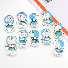 5PCS/Lot Wholesale Universal Finger Ring Mobile Phone Holder Stand Cartoon Doraemon For Xiaomi Mi 8 Lite Redmi 6 Pro