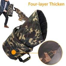 Утолщенные рукава для укусов для собак защита для рук для больших собак малинуа рабочие принадлежности для тренировки укуса для собак подходит для немецкой овчарки