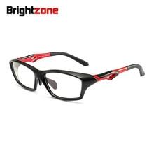 Brightzone Sport Curved TR-90 Anti-UV Anti-radiation Anti-Fatigue Blue Light Blocking Eye Glasses Digital Gamer Computer Goggle
