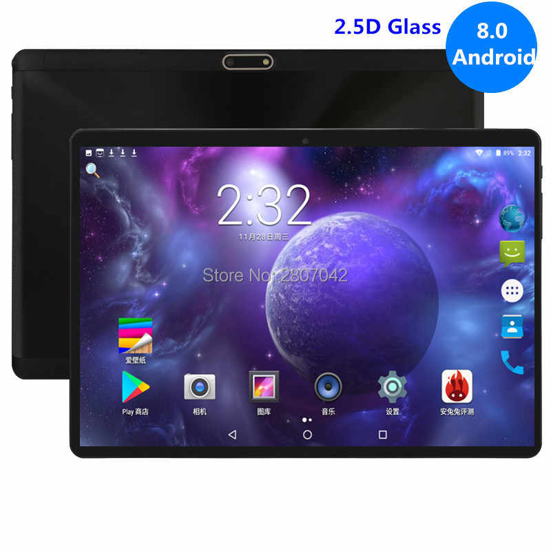 "10 inch Tablets G900 Octa Core 4GB RAM 32GB ROM Dual SIM Cards Android 8.0 GPS 3G 4G FDD LTE Tablet PC 10 10.1"" +Gifts"