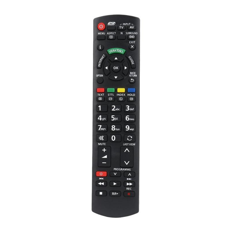 Smart TV Remote Control Replacement For Panasonic TV N2QAYB000572 N2QAYB000487 Further Transmitting Distance Stable Performance