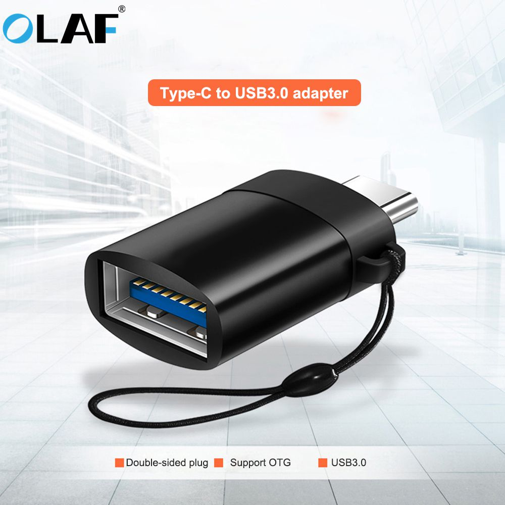OLAF Type C Adapter Type-C To USB 3.0 OTG Cable Adapter USB C Converter For One Plus 6 5 Xiaomi Mi 8 Huawei USB C OTG Adapter