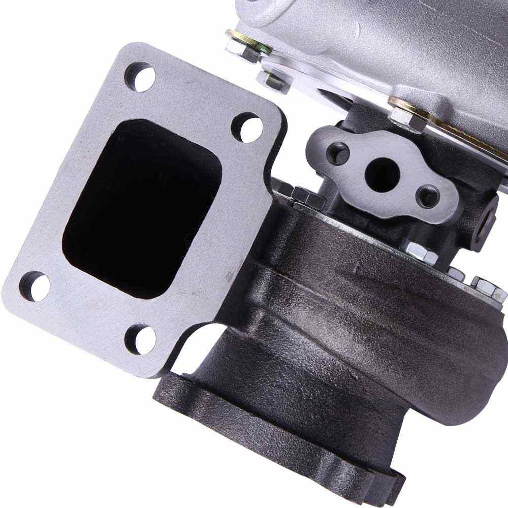 Turbo Manifold Kit for Nissan Safari Patrol RB25 RB25DET 4 2L TD42 Diesel  GR GQ Y60 800HP Turbine A/R  63 Com  70 T3 Water 4Bolt
