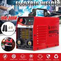 ARC 300 220V Electric IGBT Inverter Welding Machine MMA ARC ZX7 Soldering LCD 10 300A