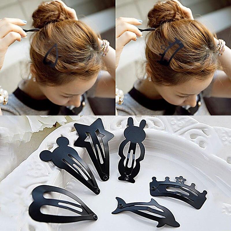 Sale Barrette   Headwear   Hairpin Girls Lovely Hair Accessories Popular Hair Black Hot 2 Fashion Women LNRRABC Pcs/lot Kids