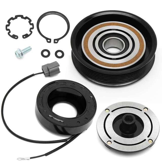 New Car Air Conditioner Compressor Clutch Repair Kit For Acura Mdx Tl Pulley Coil Bearing