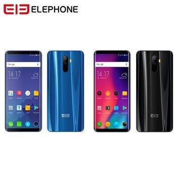 Original Elephone U Pro Android 8.0 Smartphone 5.99 inch Octa Core Back Fingerprint Face ID Cell Phone 4+64GB Type-C NFC Phone smartphone