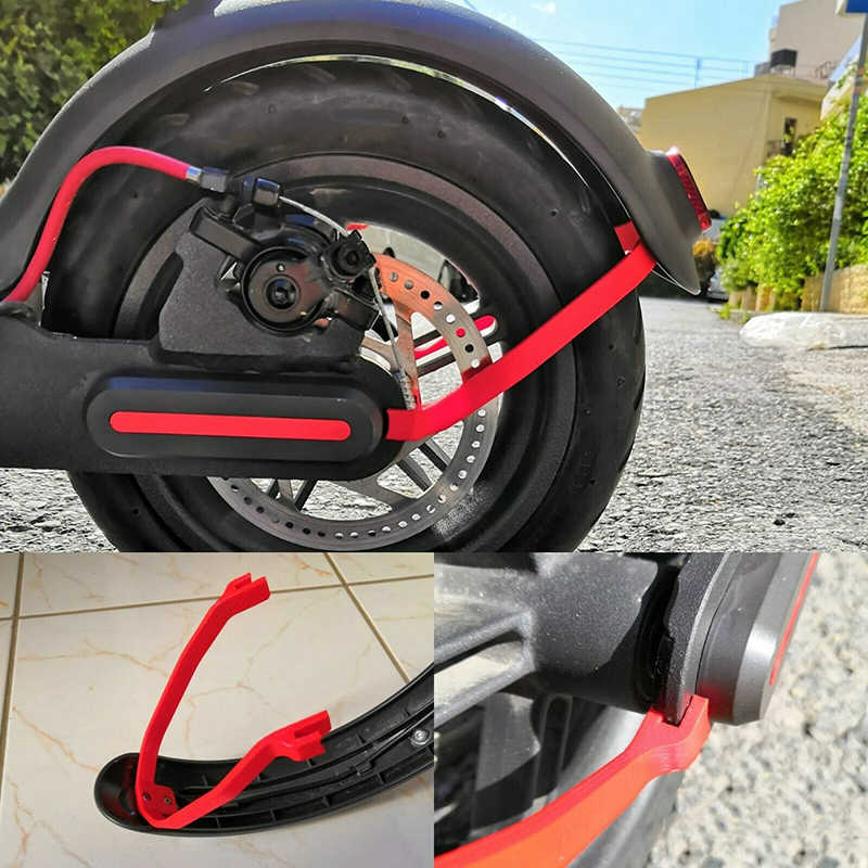 Fender Mudguard Support For Xiaomi M365/M365 Pro Scooter 3D Printed Rear