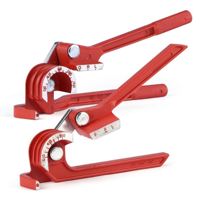 6mm/8mm/10mm Tubing Bender Pipe Bending Tool Heavy Duty Tube