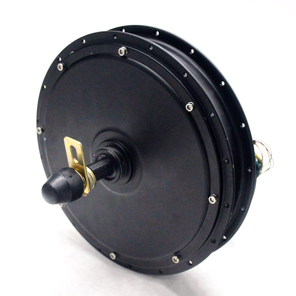 72V 1500W Electric Motor Rear Wheel Hub Motor Freewheel Electric Bicycle Brushless Non-gear Rear Motor For E BIKE/Tricycle