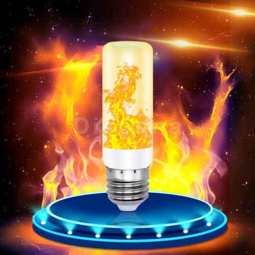 2019 Xmas 4 Modi E27/26 LED Vlam Effect Fire Gloeilamp Flikkerende Lamp Kerst Decor