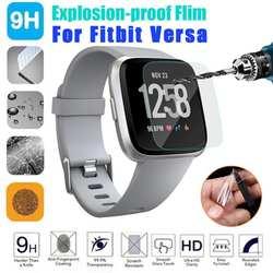ALLOYSEED 1/3 шт умные часы Закаленное стекло Защитная пленка для экрана для Fitbit Versa Защита от царапин защитная пленка из закаленного стекла