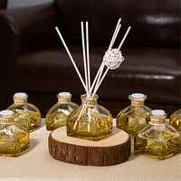 Aromatherapy Fire-free Aromatherapy Yurt Dried Flower Rattan Essential Oil Jasmine Smell Hotel Incense Home Bedroom Perfume