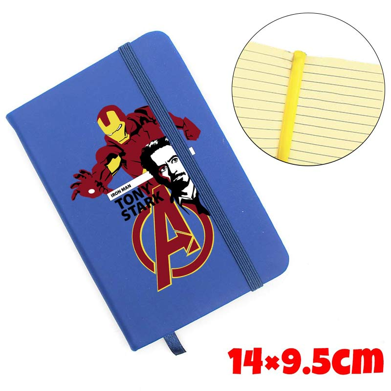 Marvel Avengers Infinity War Notebook The Iron Leather Bandage Notebook Diary Memo Study Workbook Minutebook Journal StationeryMarvel Avengers Infinity War Notebook The Iron Leather Bandage Notebook Diary Memo Study Workbook Minutebook Journal Stationery