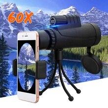 40x60 Zoom Monocular HD Telescope Hunting Telephoto Camera Lens