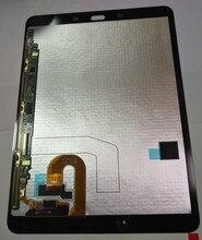 """9.7 """"LCD لسامسونج غالاكسي تبويب S3 T820 LCD عرض شاشة تعمل باللمس محول الأرقام الجمعية لسامسونج غالاكسي تبويب S3 T825 عرض المنشأ"""