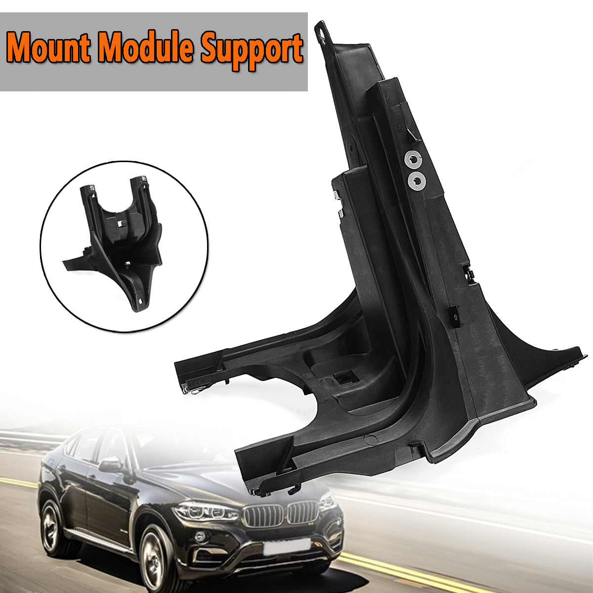 Mount Bracket Module Support For BMW X5 E70 X6 E71 Front Left/Right For Fender Bumper Lower Car Styling Frame Adapter ModuleMount Bracket Module Support For BMW X5 E70 X6 E71 Front Left/Right For Fender Bumper Lower Car Styling Frame Adapter Module