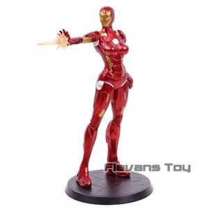 Image 2 - Super herói stark indústrias x faction ferro senhora pimenta potts mk8 pvc figura de ação collectible modelo brinquedo