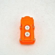 New Arrivals COB-61 Silver Contact Up Down Pushbutton Crane Hoist Switches Push Button Waterproof COB61 China цена