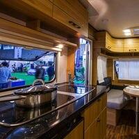 led warm Fashion For Camper Van Caravan Motorhome light Lamp Interior LED  Warm Light Spot Cabinet light 110V (4)