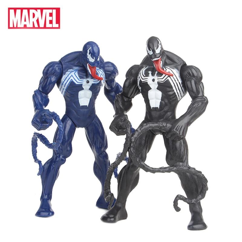 16cm Marvel The Avengers Super Hero Venom Spider Man Action Figures PVC Doll Collectiable Model For Children Kids Boy Toys Gifts