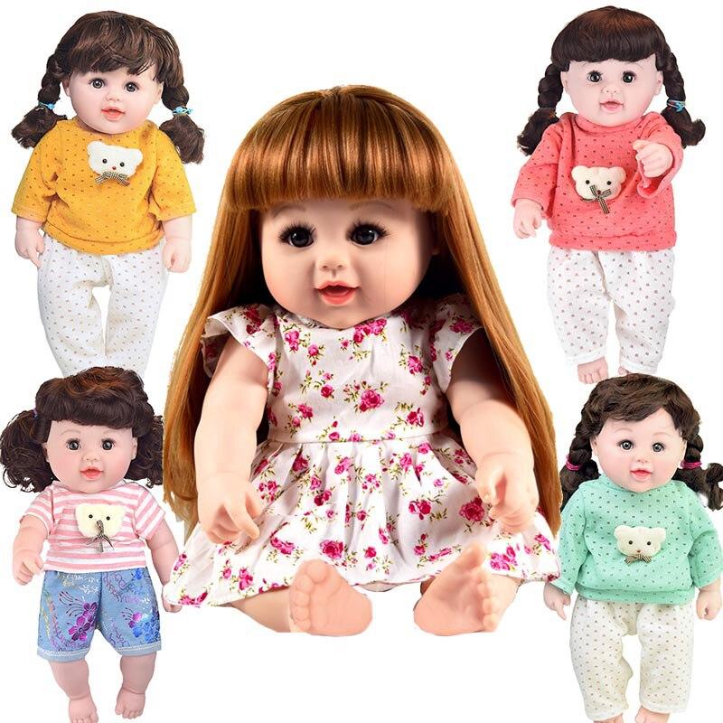 BIG! 48cm real reborn boneca Baby vinly Doll Children lifelike Toys girls 18.9 inch Dress doll Gifts Christmas Birthday madrid