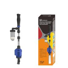 Akvaryum elektrikli sifon kumandalı balık tankı kum yıkama vakum çakıl su değiştirici sifon filtresi temizleyici balık tankı araçları