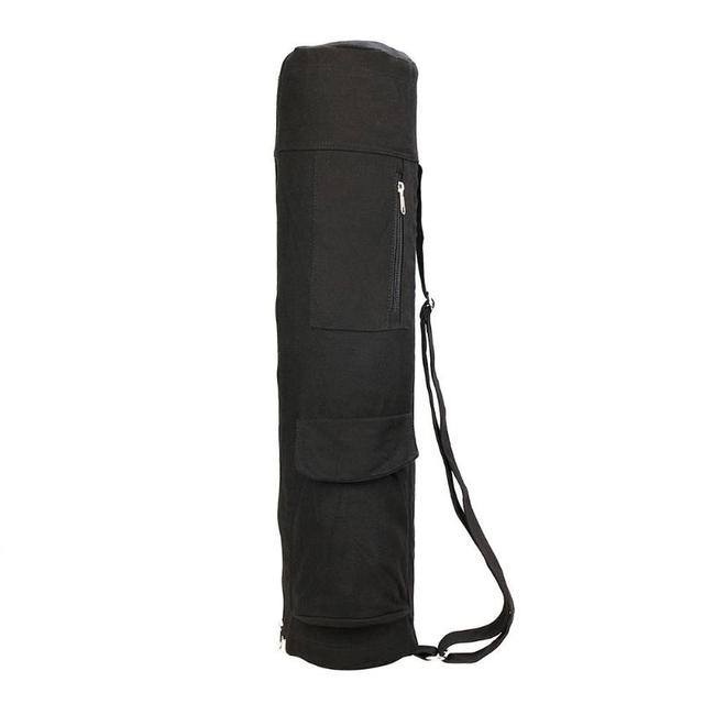2f134eeed0 Yoga Mat Bag Carrier Durable Canvas Cotton Yoga Backpack Yoga Bag Carry  Strap Drawstring Bags Pilates Mat Bag
