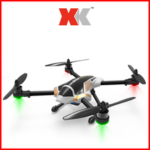 Original XK X251 2.4G 4CH 6 Axis Gyro With Brushless Motor 3D 6G Mode LED Light Dazzle RC Drones Quadcopter RTF ZLRC