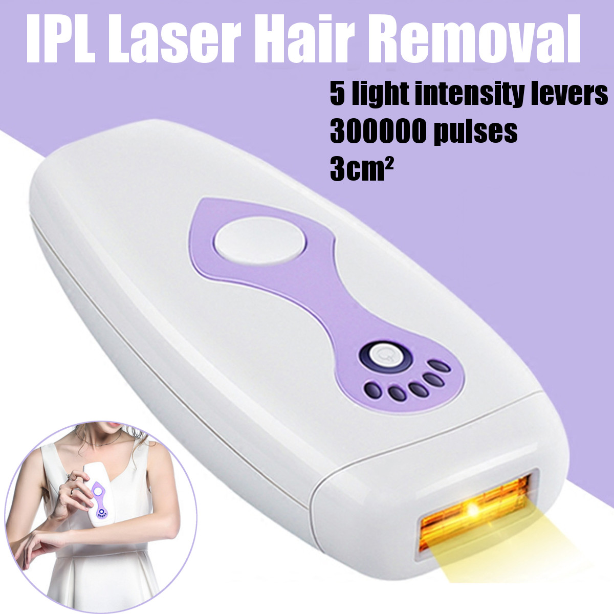500000 Pulsed Light 5 Modes Intense IPL Electric Laser Epilator Female Body Hair Removal Photo Women Painless Threading Machine500000 Pulsed Light 5 Modes Intense IPL Electric Laser Epilator Female Body Hair Removal Photo Women Painless Threading Machine