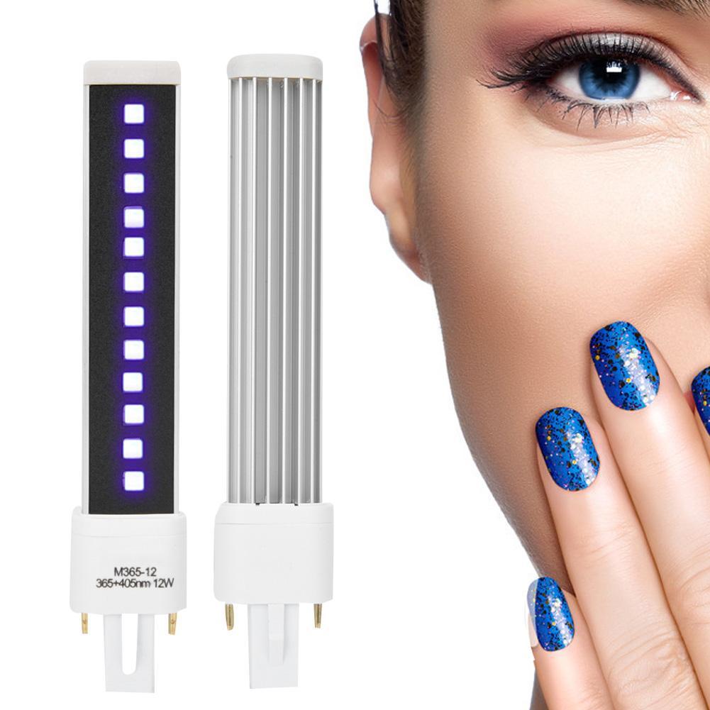 Doppel Lichtquelle Nagel Gel Curing Trockner Licht Rohr Ersatz Lampe Birne Maniküre Werkzeuge Auf Dem Internationalen Markt Hohes Ansehen GenießEn Nails Art & Werkzeuge