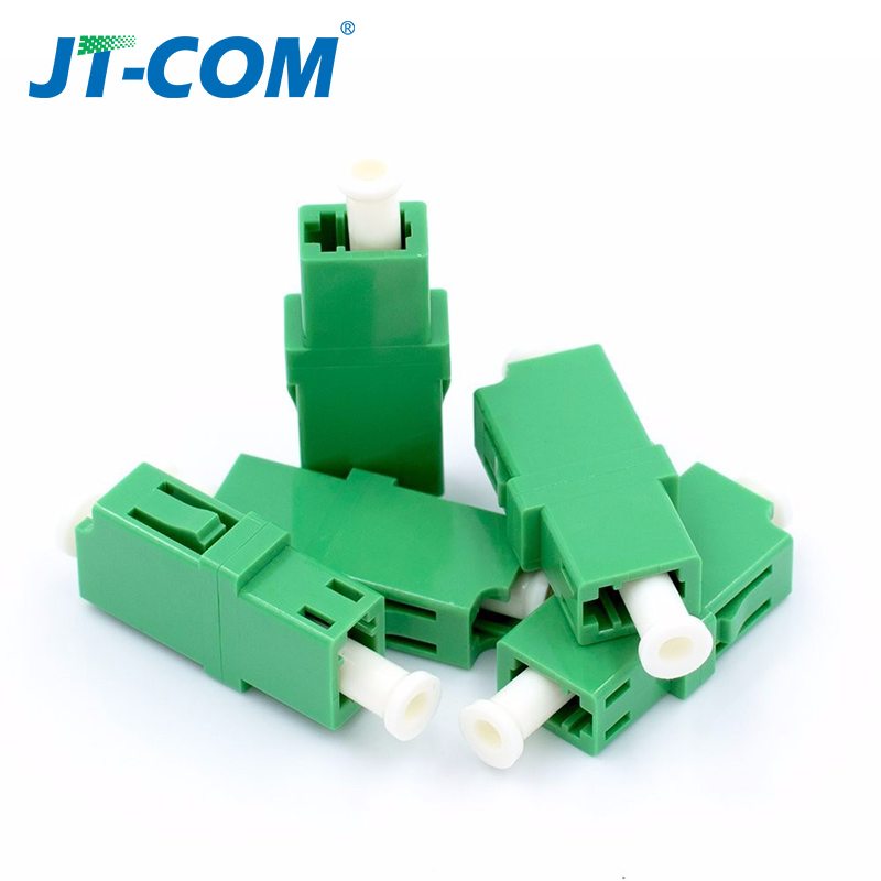 Image 5 - LC APC Simplex SingleMode FTTH fiber adapter  LC UPC SM optical fiber flange connector LC MM Multimode fibra optica coupler-in Fiber Optic Equipments from Cellphones & Telecommunications