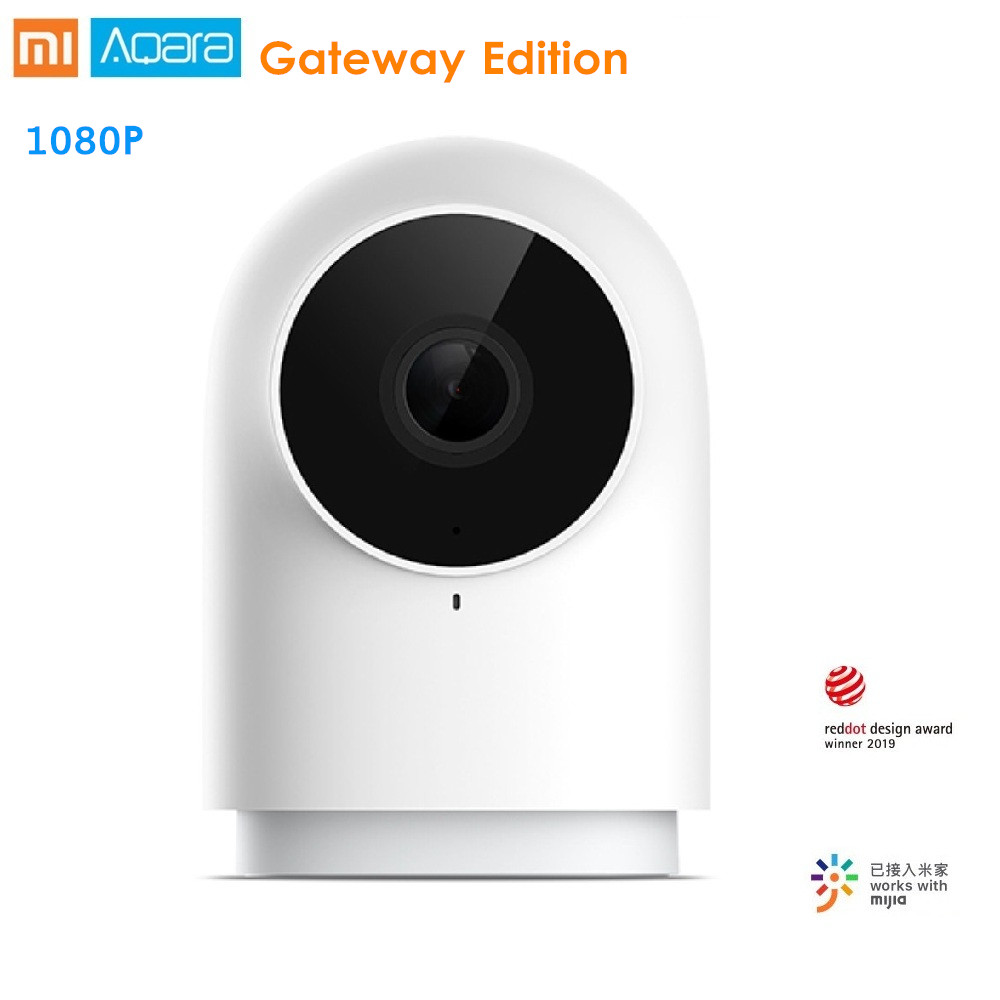 Xiaomi AQara G2 1080P Smart IP Camera Zigbee Gateway Edition Night Vision  AI Recognition Smart APP Remote Control Home Security