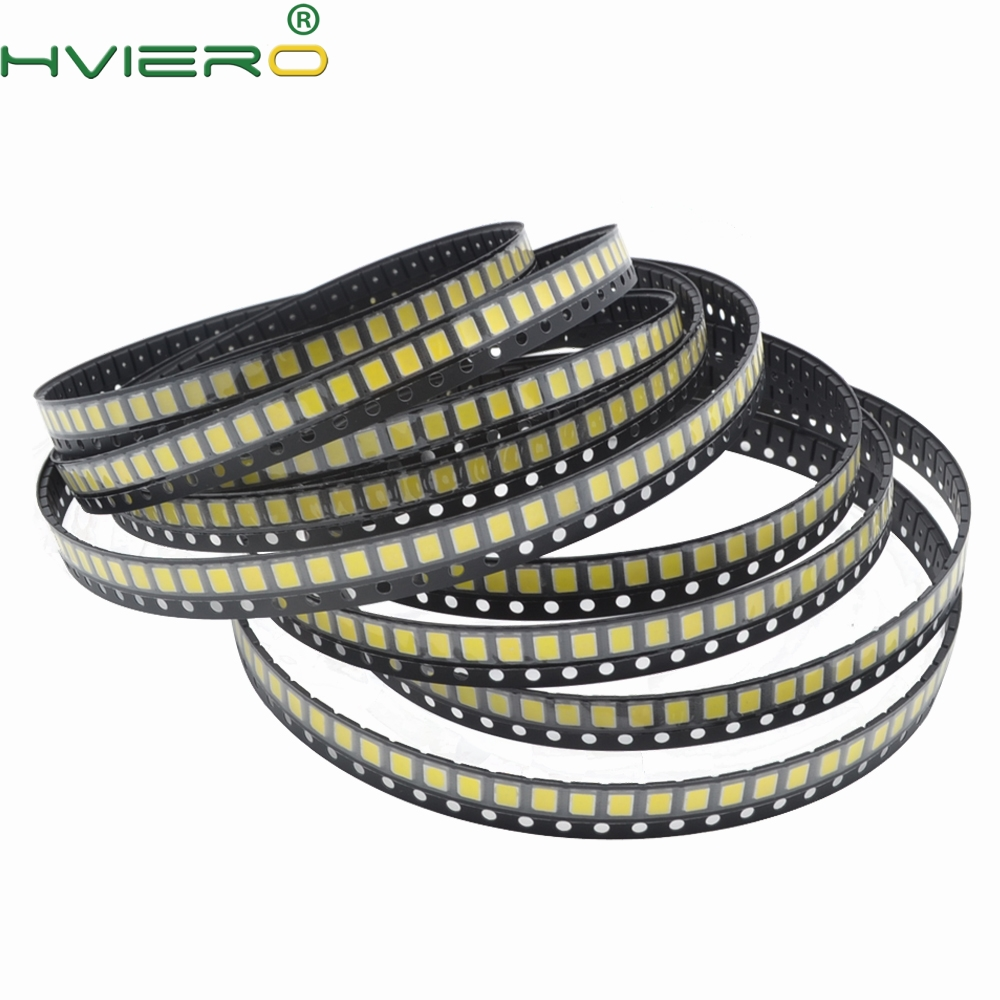 500pcs SMT SMD 2835 LED Lamp Bead 20-25lm White Red Blue Green Yellow LED Beads LED Chip DC 1.8-3.6V LED Light Emitting Diodes