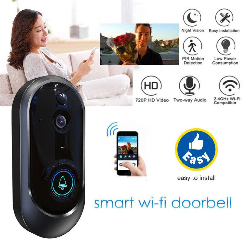 Home 2019 Smart Wireless WIFI Doorbell HD Video Camera Motion Sensor IR Night VisionHome 2019 Smart Wireless WIFI Doorbell HD Video Camera Motion Sensor IR Night Vision