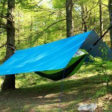 Beach Sun Shelter Tarp Tent Shade Ultralight UV Garden Awning Canopy Sunshade Outdoor Camping Hammock Portable Cover Rain Fly цена 2017