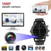 Mini Camera Watch 32GB 1080P Full HD Video Recorder Secret Service DVR Hidden Camera Watch Infrared Night Vision Spy Camera